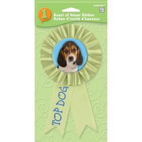 Party Pups Award Ribbon