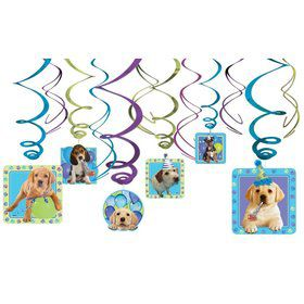 Party Pups Hanging Decorations