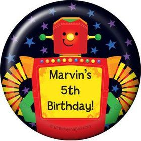 Party Robot Personalized Magnet (each)