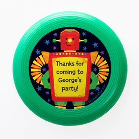 Party Robot Personalized Mini Discs (Set of 12)
