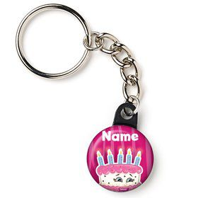 "Partykin Personalized 1"" Mini Key Chain (Each)"