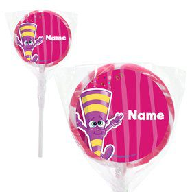 "Partykin Personalized 2"" Lollipops (20 Pack)"