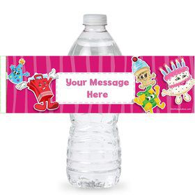 Partykin Personalized Bottle Label (Sheet of 4)