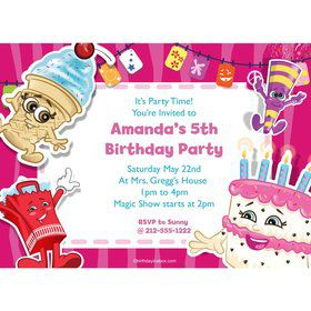 Partykin Personalized Invitation (Each)