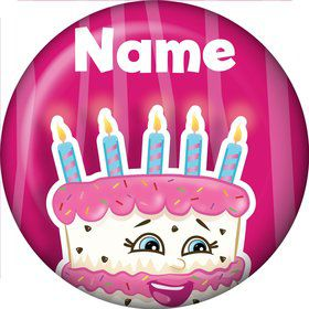 Partykin Personalized Mini Button (Each)