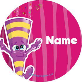 Partykin Personalized Mini Stickers (Sheet of 20)
