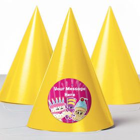 Partykin Personalized Party Hats (8 Count)