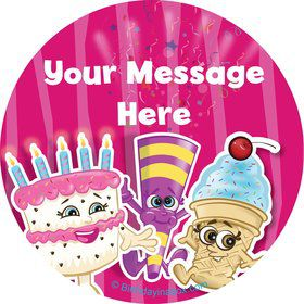 Partykin Personalized Stickers (Sheet of 12)