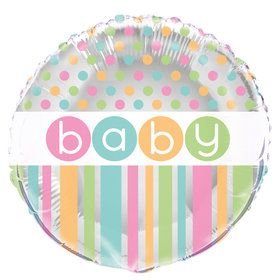 "Pastel Baby Shower 18 "" Foil Balloon"