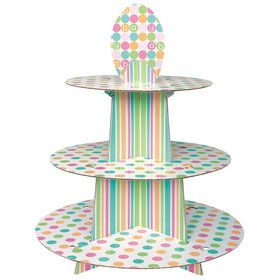 Pastel Baby Shower Cupcake Stand (Each)