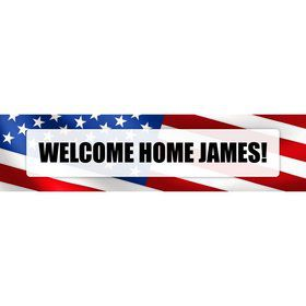 Patriotic Personalized Banner (Each)