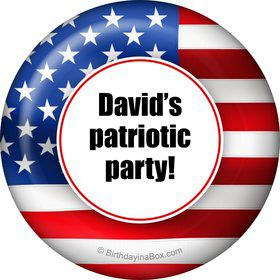 Patriotic Personalized Magnet (Each)