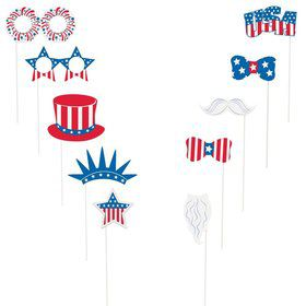 Patriotic Photo Booth Props Kit (Each)