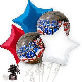 Patriotic Welcome Home Balloon Bouquet Kit