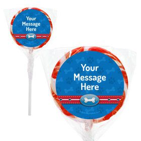 "Paw Command Personalized 2"" Lollipop (24 Pack)"