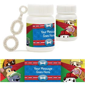 Paw Command Personalized Bubbles (18 Pack)