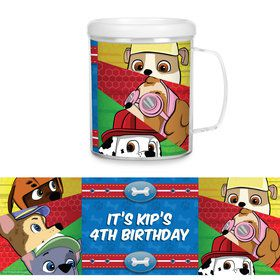 Paw Command Personalized Favor Mug (Each)