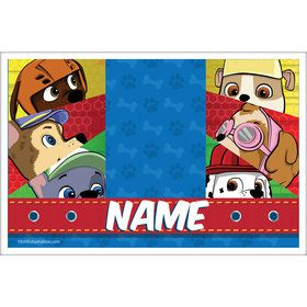Paw Command Personalized Placemat (Each)