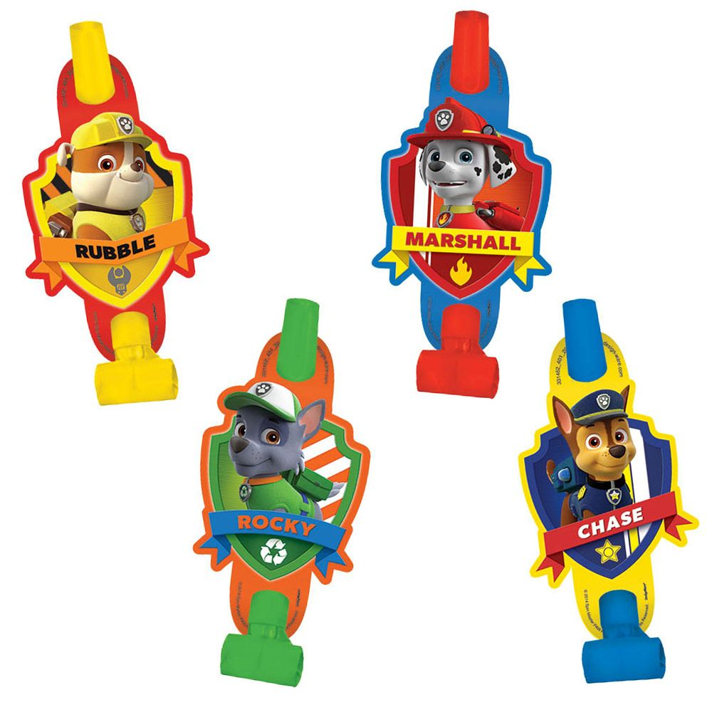 "Paw Patrol 5"" Blowouts (8 Pack) BB331462"