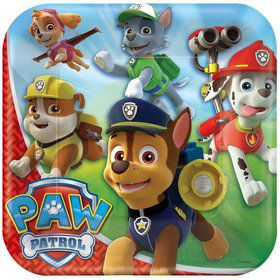 "Paw Patrol 9"" Luncheon Plate (8 Pack)"