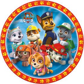 "Paw Patrol 9"" Luncheon Plates (8 Pack)"