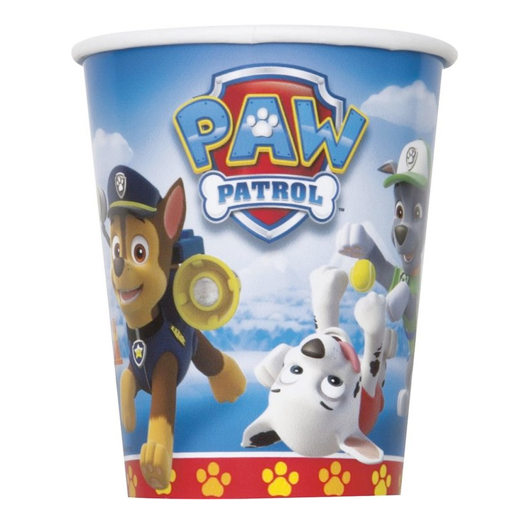 Paw Patrol 9Oz Cups (8 Pack) BB48366