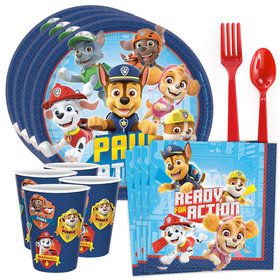 Paw Patrol Adventures Tableware Kit (Serves 8)