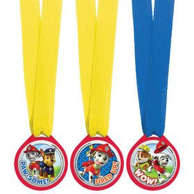 Paw Patrol Award Medal Favors (12 Count)