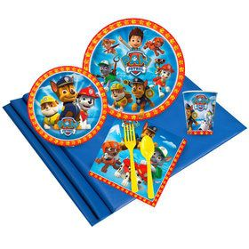 Paw Patrol Birthday Party Deluxe Tableware Kit Serves 8