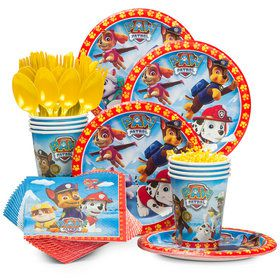 Paw Patrol Birthday Party Standard Tableware Kit Serves 8
