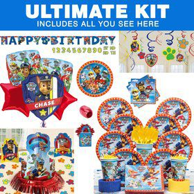 Paw Patrol Birthday Party Ultimate Tableware Kit Serves 8