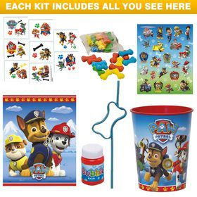 Paw Patrol Deluxe Favor Kit (Each)
