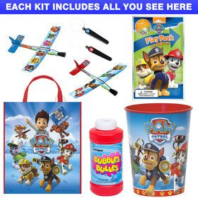 Paw Patrol Favor Kit (For 1 Guest)