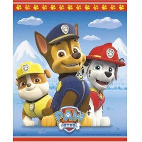 Paw Patrol Favor Lootbags (8 Pack)