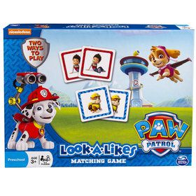 Paw Patrol Look Alikes Board Game