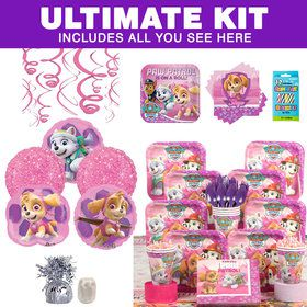 Paw Patrol Pink Ultimate Tableware Kit (Serves 8)