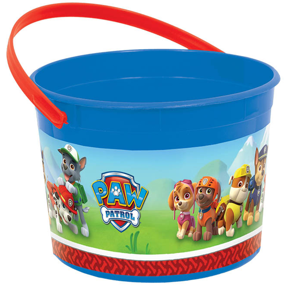 Paw Patrol Plastic Favor Container (Each) BB261462