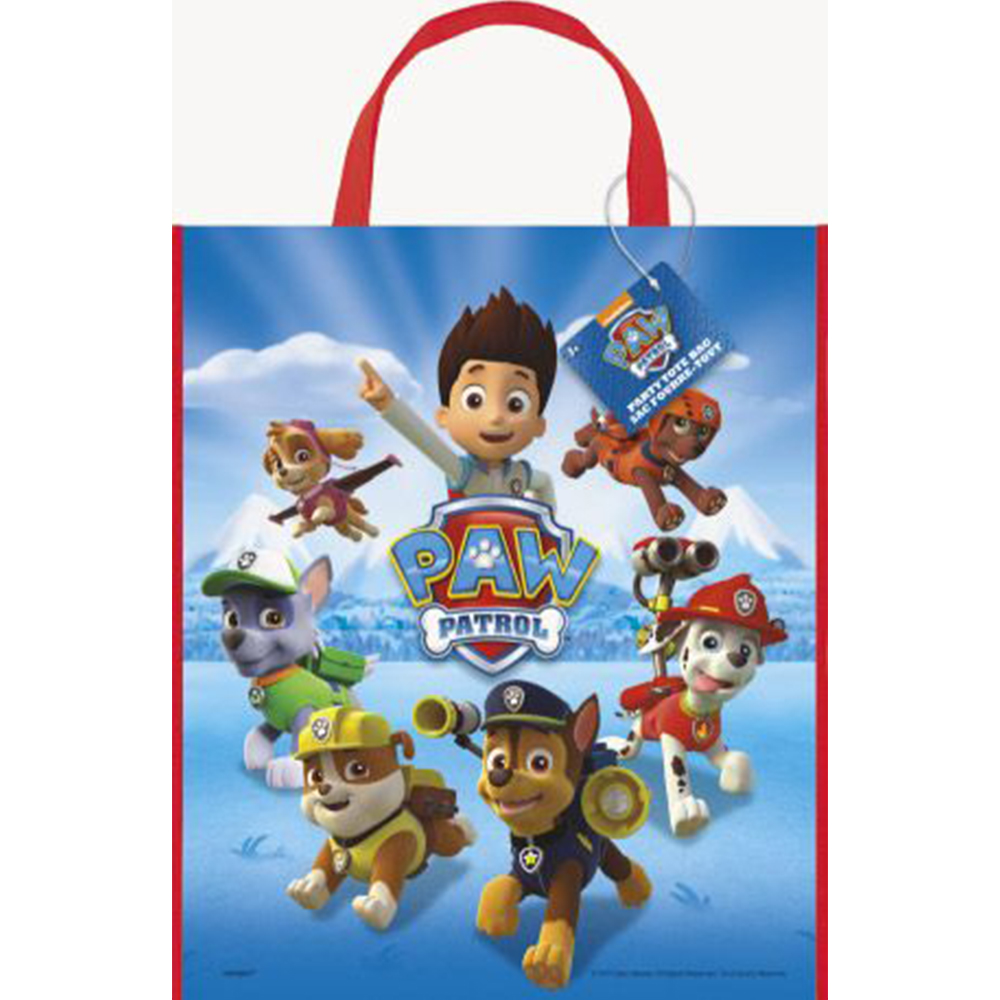 Paw Patrol Plastic Tote Bag (Each) BB048378