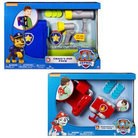 Paw Patrol Rescue Pup Pack Tool Set