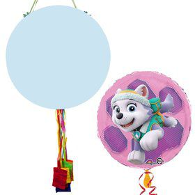 Paw Patrol Skye and Everest Birthday Pull String Economy Pinata