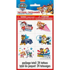 Paw Patrol Tattoo Sheets