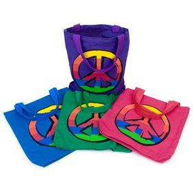 Peace Favor Tote (each)