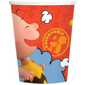 Peanuts 9oz Cups (8 Count)