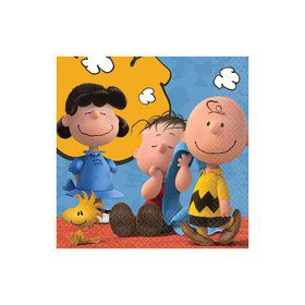 Peanuts Beverage Napkins (16 Count)