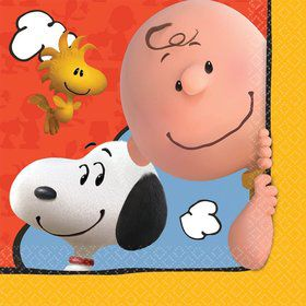 Peanuts Lunch Napkins (16 Count)