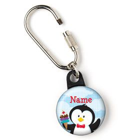 "Penguin Personalized 1"" Carabiner (Each)"