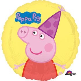 "Peppa Pig 18"" Happy Birthday Balloon (Each)"