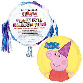 "Peppa Pig 18"" Pinata (Each)"