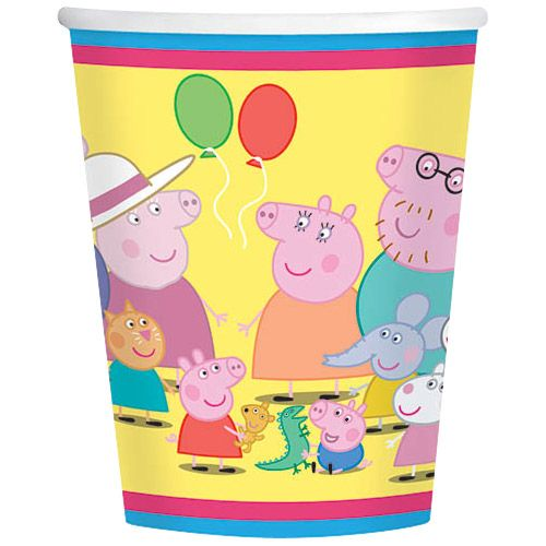 Peppa Pig 9Oz Cups (8 Pack) BB581499