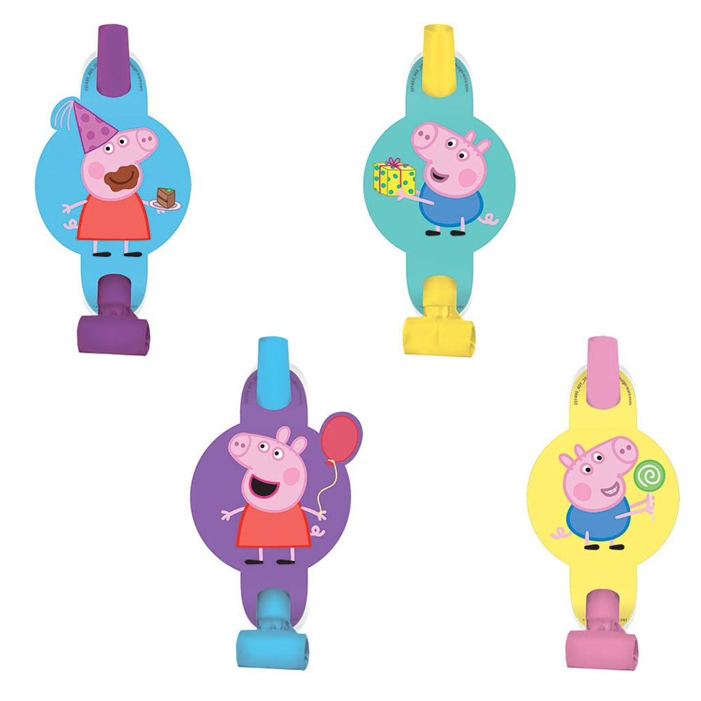 Peppa Pig Blowouts (8 Pack) BB331499
